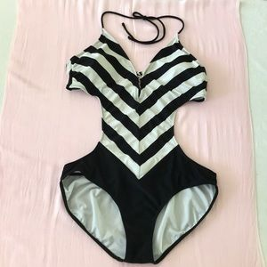 OP Monokini One Piece Swimsuit Size XL (15-17)